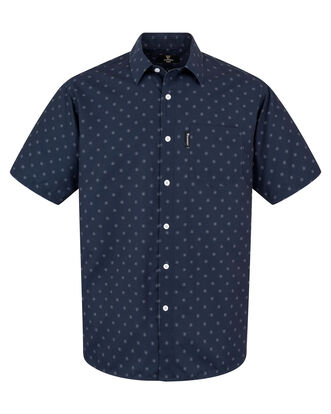 Guinness® Short Sleeve Soft Touch Geo Print Shirt