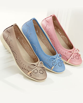 Cushioned Comfort Slip-on Shoes