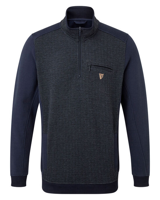 Guinness® Panel Half Zip Top