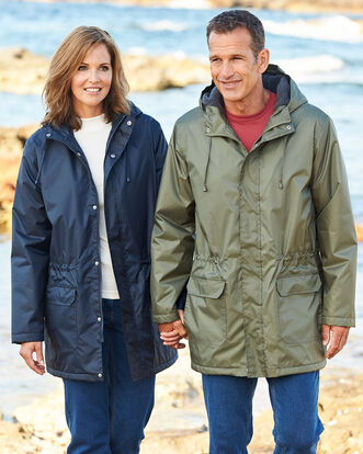 Fleece Lined Waterproof Parka