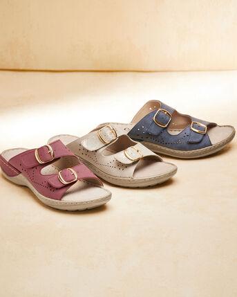Comfort Adjustable Mules