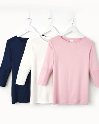 Wrinkle Free Boat Neck Top