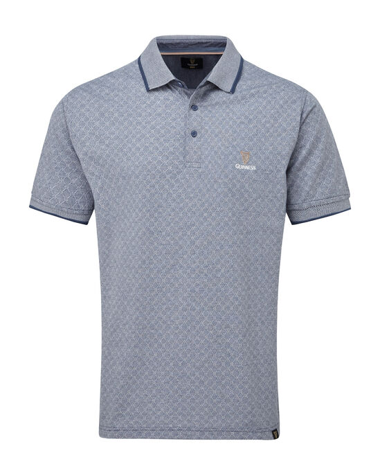 Guinness® Jacquard Polo Shirt