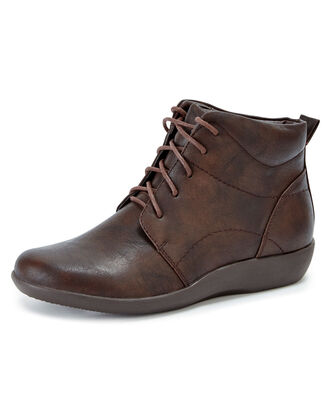 Cushioned Lace-up Boots