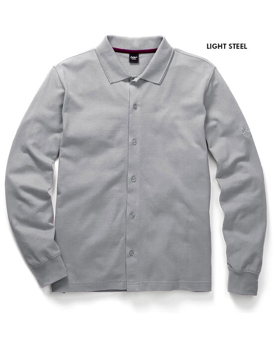 Long Sleeve Pique Shirt