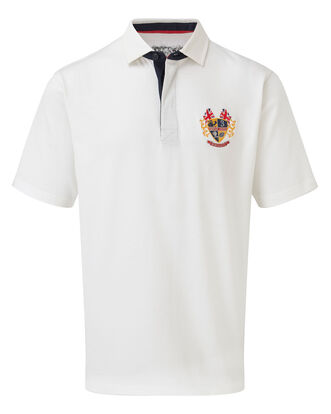 3 Lions Short Sleeve England Rose Rugy Shirt