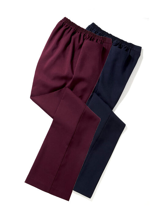 Pack of 2 Bootcut Trousers