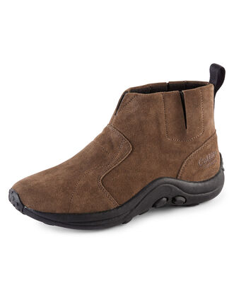 Suede Slip-on Boots