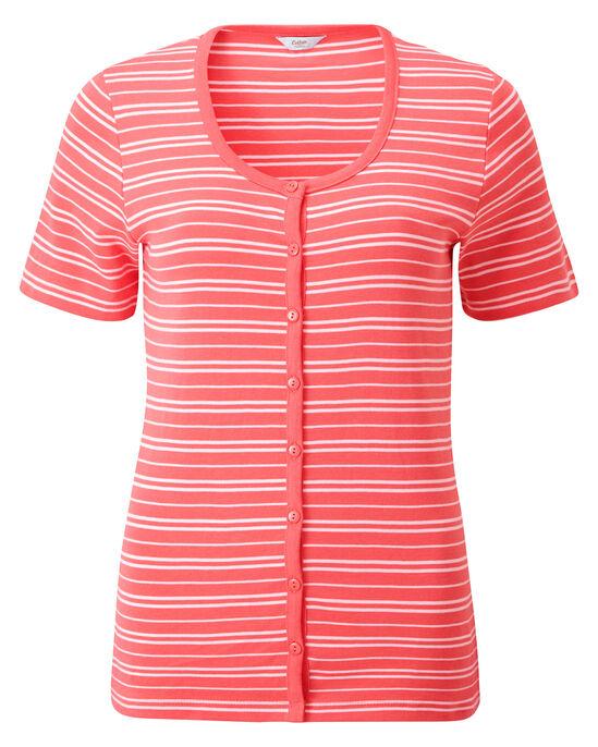 Wrinkle Free Stripe Cardigan