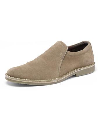 Suede Slip-On Desert Shoes