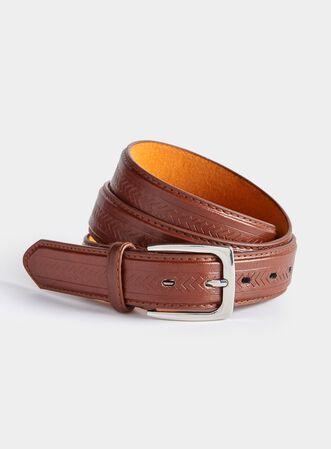 Mens Leather Lined Belt