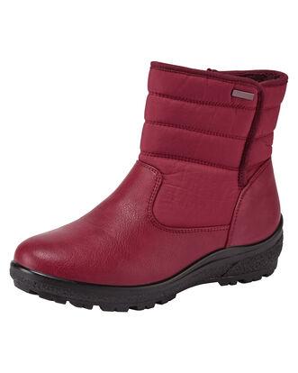 Cosy Comfort Zip Boots