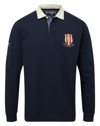 England Rose Long Sleeve Rugby Shirt