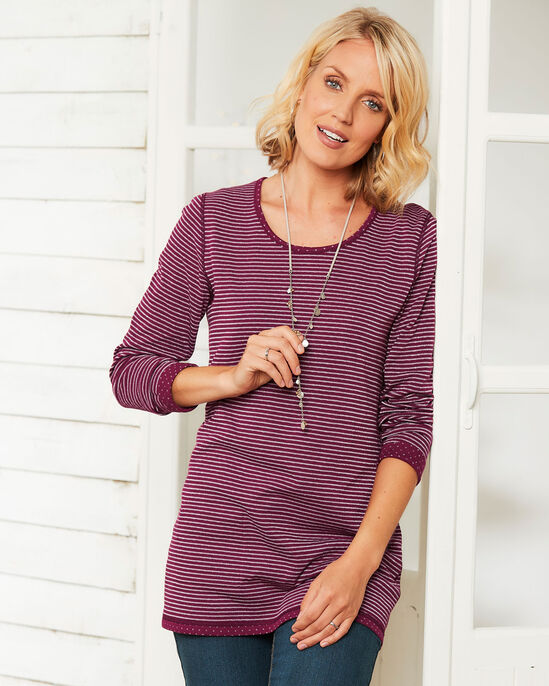 Reversible Sparkle Tunic