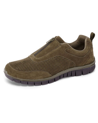 Lightweight Flexi Active Zip Trainers