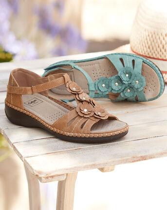 Flexisole Flower Trim Sandals