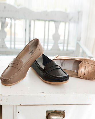 Leather Flexisole Loafer