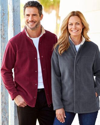 Luxury Fleece Jacket