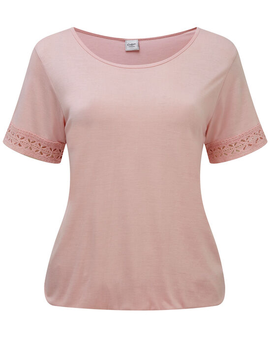 Elasticated Hem T-shirt