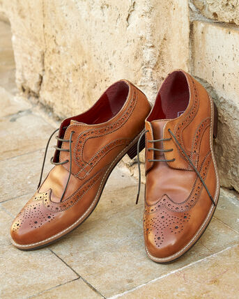 Leather Lace-up Brogues