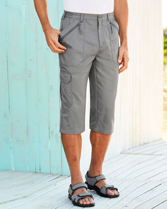 Utility Crop Trousers
