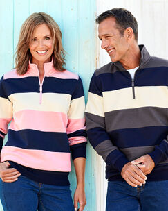 Stripe Sweatshirt