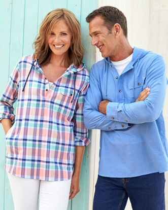 Cotton Popover Shirt