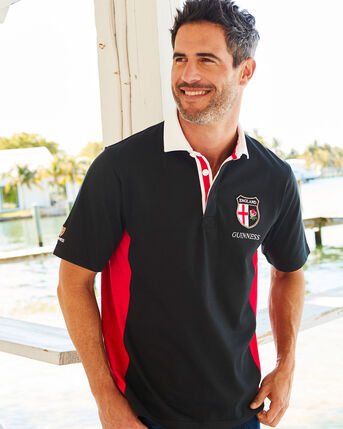 Guinness® Short Sleeve England Rugby Shirt