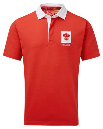 Short Sleeve Wales Classic Rugby Shirt
