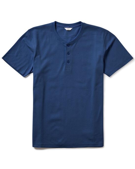 Short Sleeve Grandad Organic T-shirt