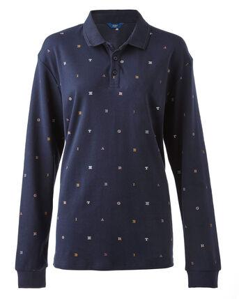 Long Sleeve Jersey Polo Shirt