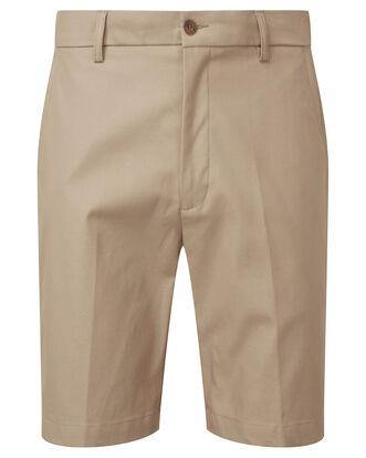 Flat Front 4-way Stretch Chino Shorts
