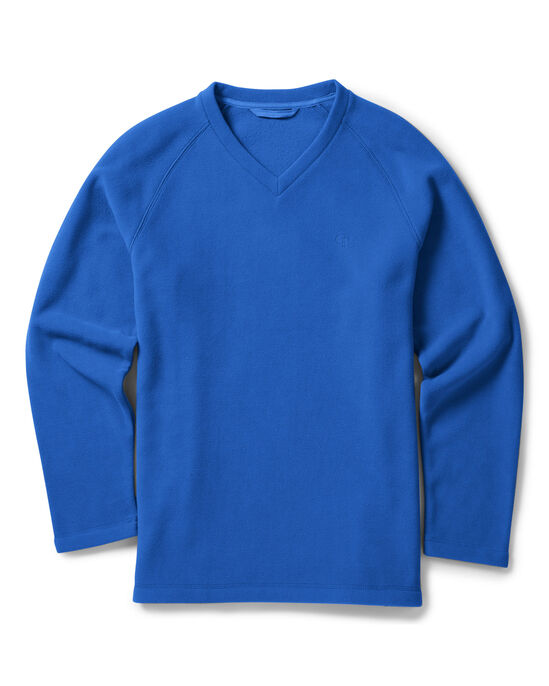 Fleece V-Neck Top