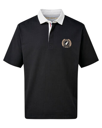 Short Sleeve New Zealand Rugby Shirt