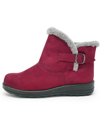 Side Buckle Snug Boots