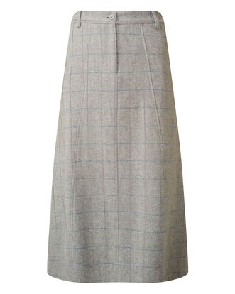 Grey Side Elasticated Waist Skirt