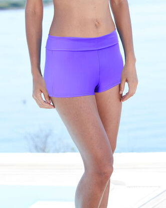 Roll Top Tummy Control Short