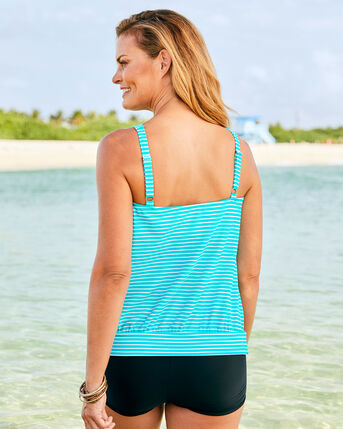 Scoop Neck Tankini Top