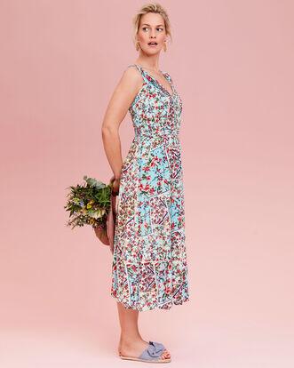 Long Crinkle Dress